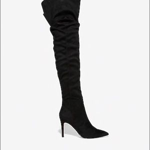 Express Thigh High Slouch boots